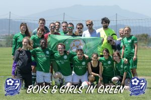 BOYS & GIRLS IN GREEN